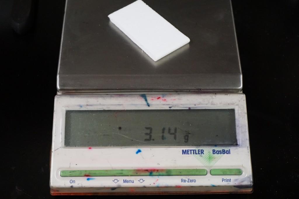 Porelon light weight foam.